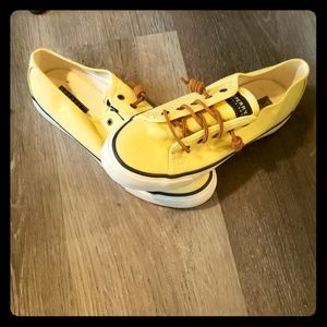 Sperry lace up sneakers